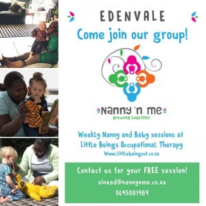 We had our first Nanny n Me face to face toddler group on Monday the 19th of April. We had so much fun learning and exploring with our senses. Want to ensure your little one is being stimulated the right way and that your nanny is well equipped? Join us! First session FREE!